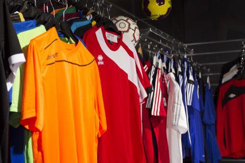 Large choix d'équipement sportif